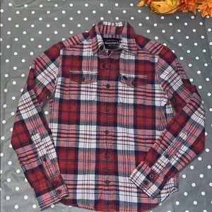 Abercrombie Boys Plaid Shirt Size M